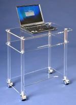 Acryl glass laptop desk