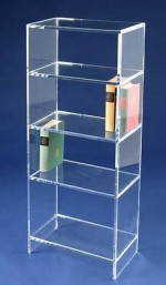 Acryl glass bookcase