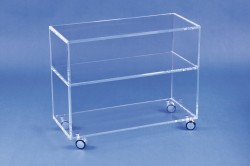 Acryl glass TV unit / Trolley