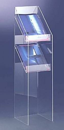 Acryl glass display