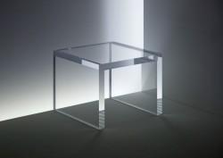 Acryl glass side table