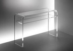 Acryl glass sideboard