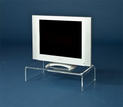 Acryl glass TV unit
