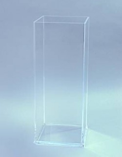 Acryl glass umbrella stand