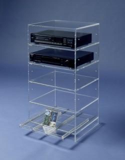 Acryl glass Hifi unit