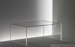 Acryl glass coffee table