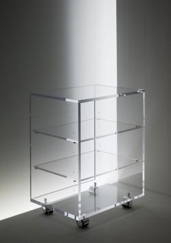 Acryl glass TV / HiFi unit