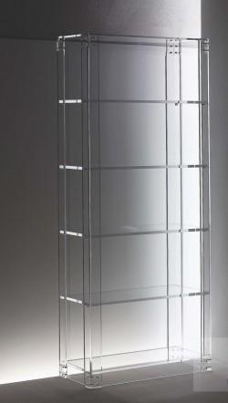 Acryl glass shelf