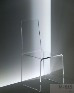 Acryl glass chair
