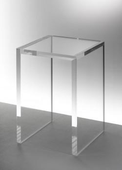Acryl glas side table / pedestal