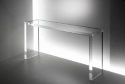Acryl glass console table