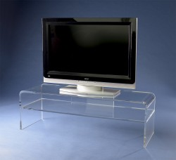 Acrylglass TV sideboard
