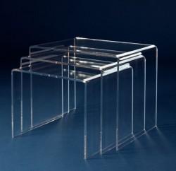 Acryl glass nest of tables
