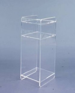 Acryl glass shelf