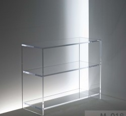 Acryl glass console table