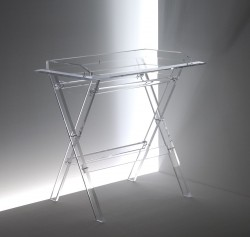 Acryl glass butler table