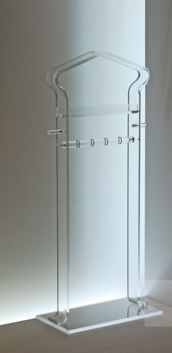 Acryl glass valet stand