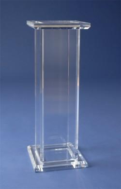 Acryl glass pedestal
