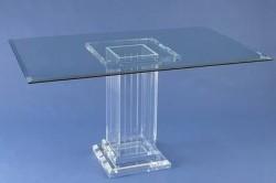 Acryl glass dining table