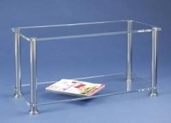 Acryl glass TV unit