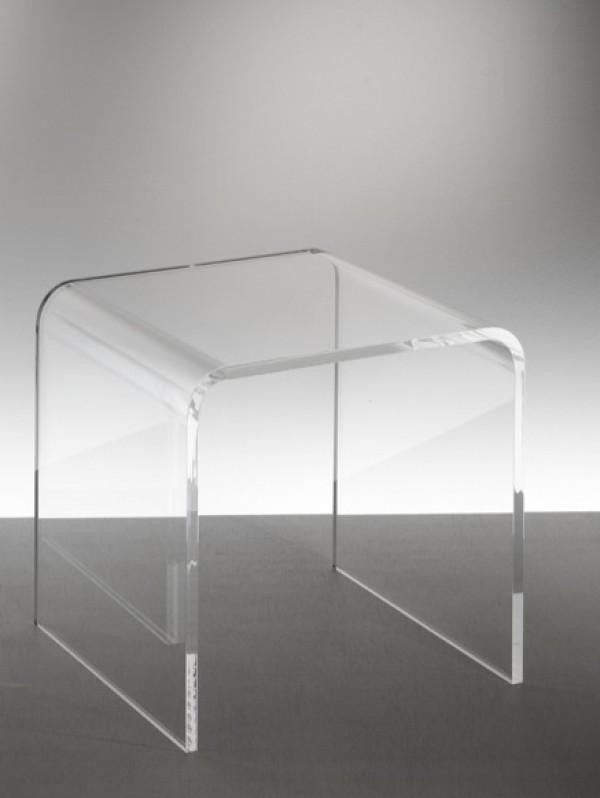 Acryl Gl Side Table Or Stool