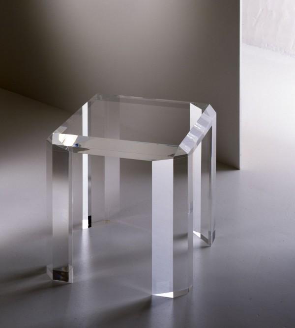 Acrylglas Beistelltisch Moebel Glanz